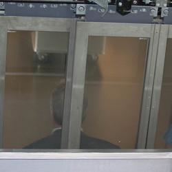 Opgesloten in lift
