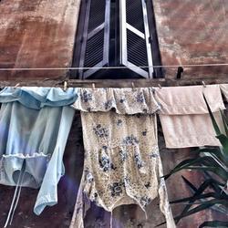 Waslijn in Rome