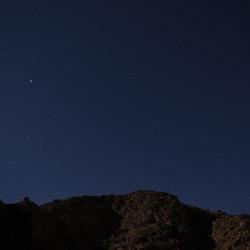 Sterrenhemel Wadi Rum