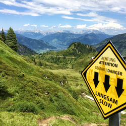 Wandelen op op de Kitzsteinhorn