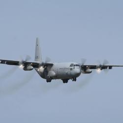 Hercules in de landing
