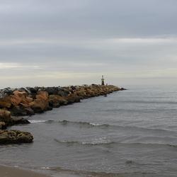 langs de kust
