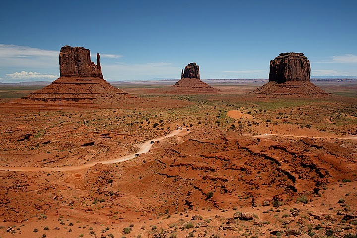 Monument Valley - Monument Valley in Arizona.