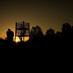 Selfportrait Sunset