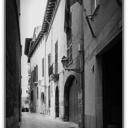 straatjes in Mallorca