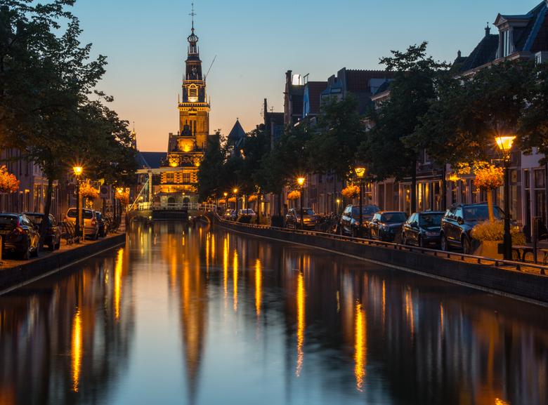 Avond in Alkmaar - Avond in Alkmaar