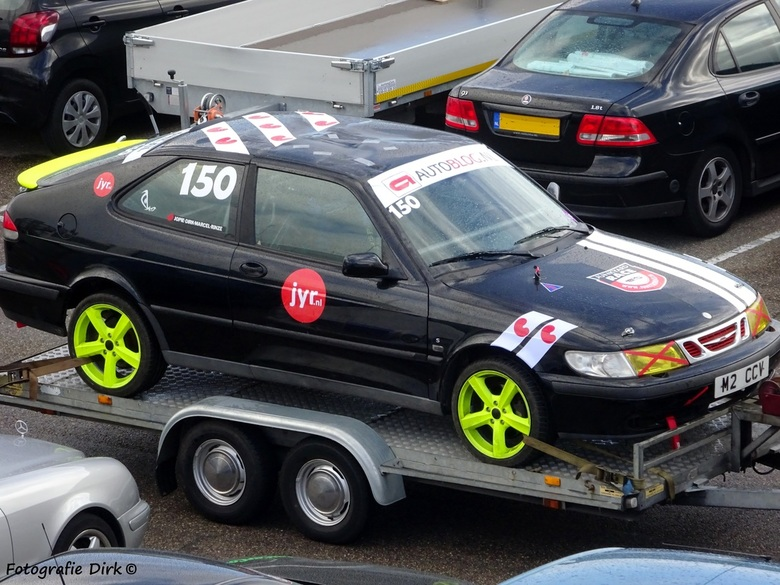 Saab 9 3  Junkyardrace -