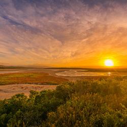 Zonsopkomst, Franskraal, Zuid-Afrika