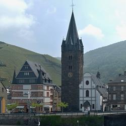 De St-Michaelskerk van BernKastel.