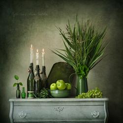 Unframed Imagination Series - Greens