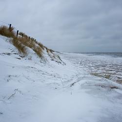sneeuw en strand