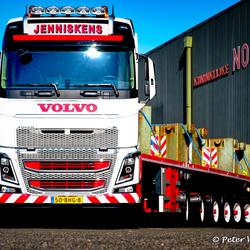 Volvo FH met ballastttrailer