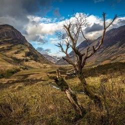 Glen Coe vallei Schotland!