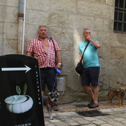 Wachten in Perigueux