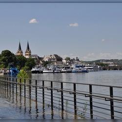 Hoogwater Koblenz