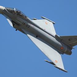 Spaanse Eurofighter