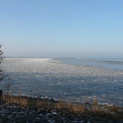 Nog een keer ijs op het ij-meer