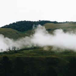 Landschappelijke wolk