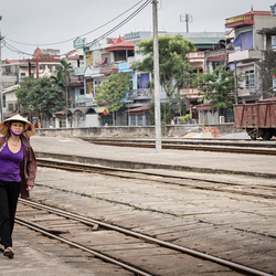 Vietnam - trainstation