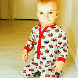 In pyjama