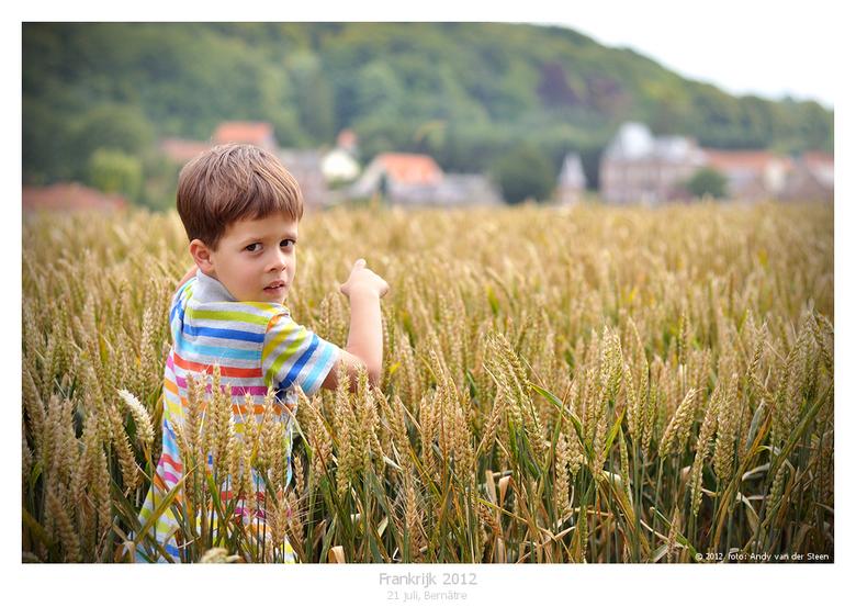 Frankrijk - Onze zoon Job in Frankrijk...