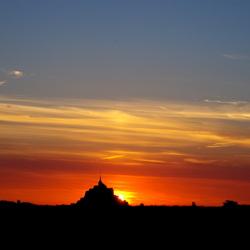 Sunset @ Mt St Michel
