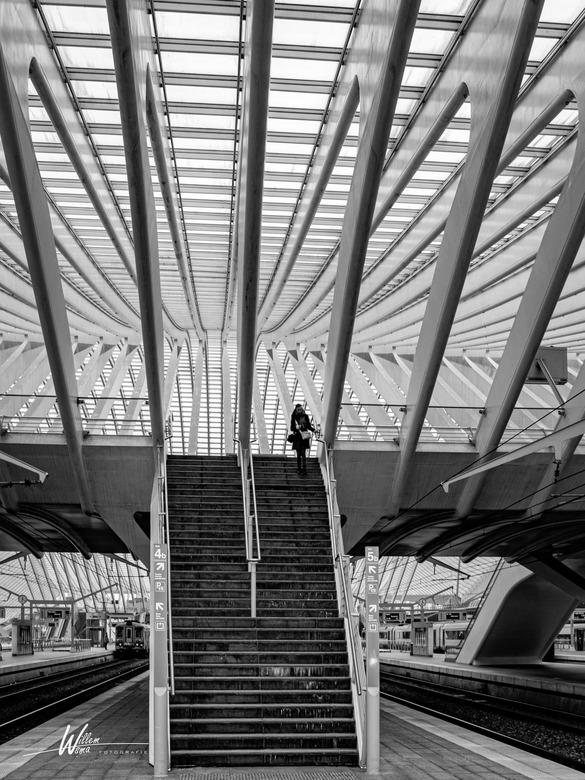 Onderweg - Station Luik