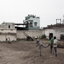 Cricket on Street -India