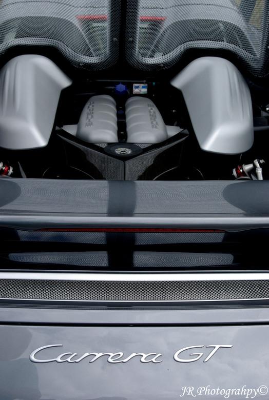 Porsche Carrera - Achterkant van een Porsche Carrera