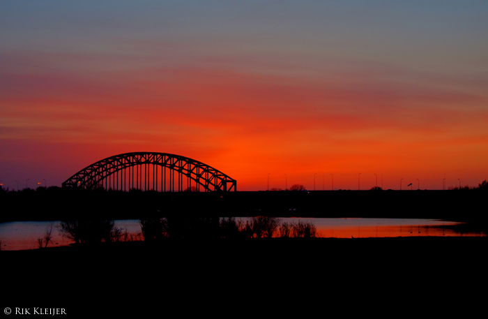Sunset - Zonsondergang Zwolle