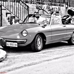 Alfa Romeo Spider Duetto hdr