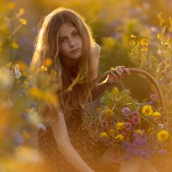 Bloemenplukken