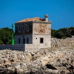Huis op de kust van Goli Otok