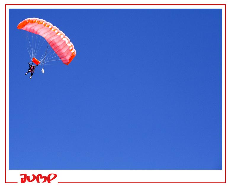 Jump - Parachute springen op Texel