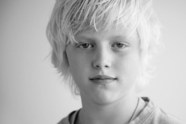 Stoer - mijn zoontje van 9