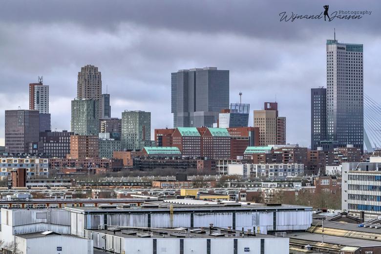 Beautiful Rotterdam on the Maas -