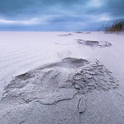Voetstappen in het zand....