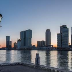 Rustige ochtend Rotterdam
