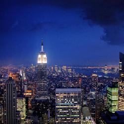 NY in de hoogte