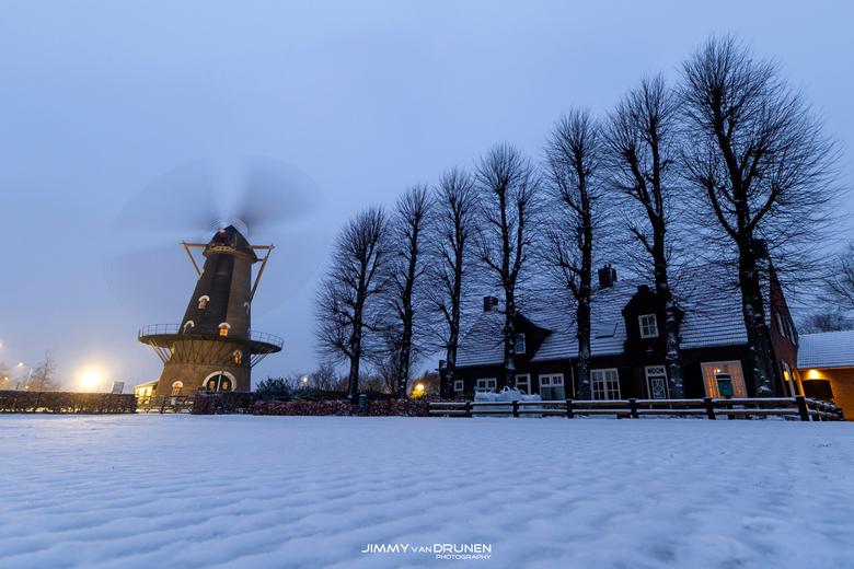 Sneeuw in Brabant! - De eerste sneeuw van 2021!