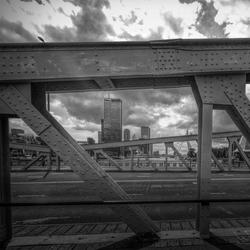 Look through Queen's Bridge