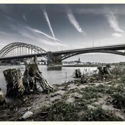 Nijmegen in twilight