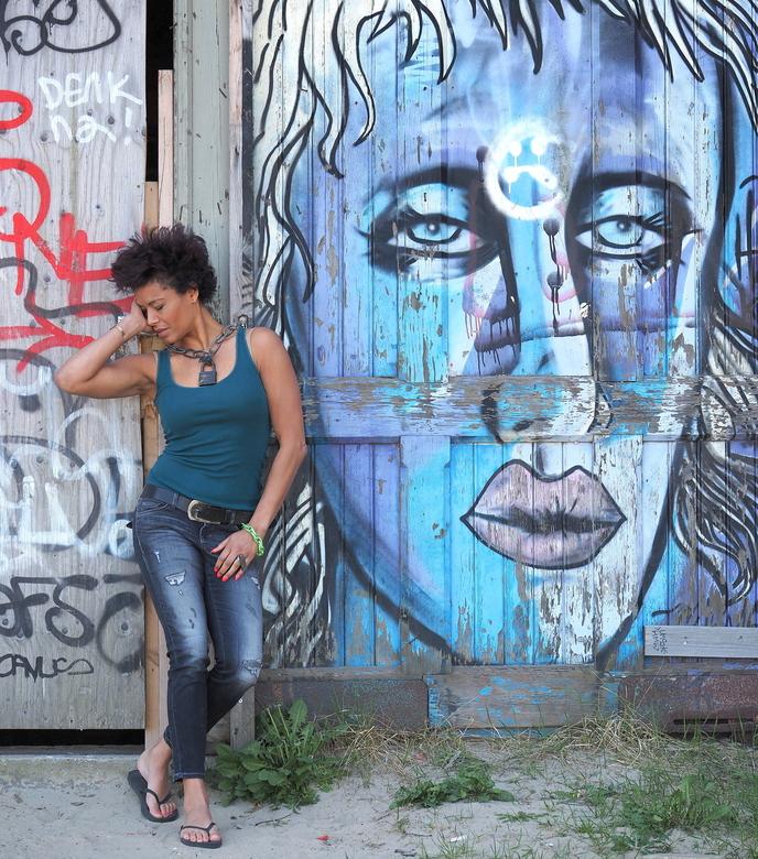 Graffiti Dromen 11 - Sabine Gevangen...