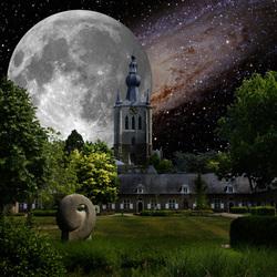 Kerk en begijnhof Aarschot
