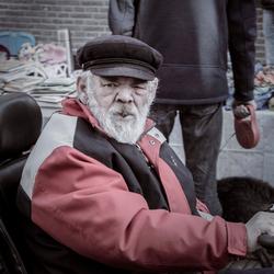 Stoere oude man
