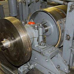 detail kabeltrein motor