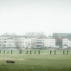 Stadsgezicht bij Arnhem? Neen: IJsselkade Zutphen!