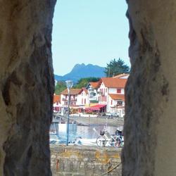 Doorkijkje in de haven