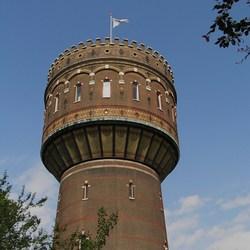 Watertoren Delft nr 2 met meer Detail
