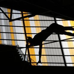 Polstokhoog Indoorhal Apeldoorn